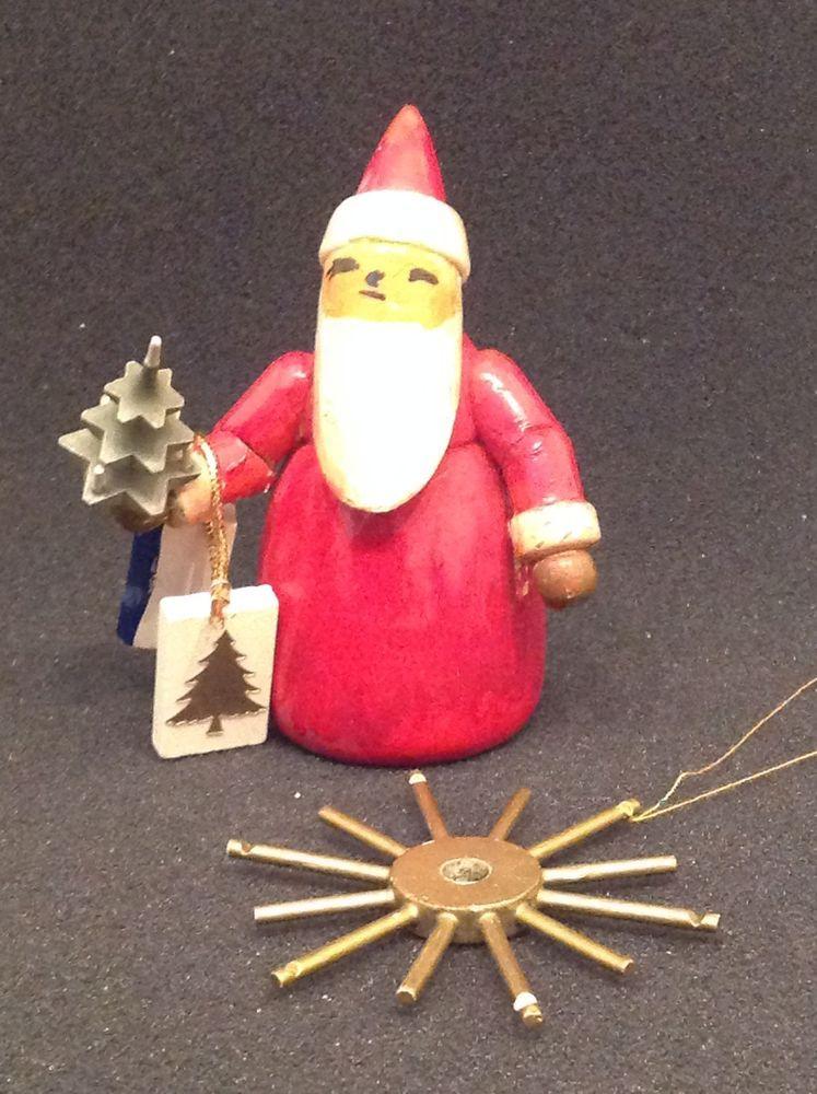 Wendt Und Kühn Tannenbaum.Vorkrieg Weihnachtsmann Mit Tannenbaum Logo Vorhanden Von Wendt