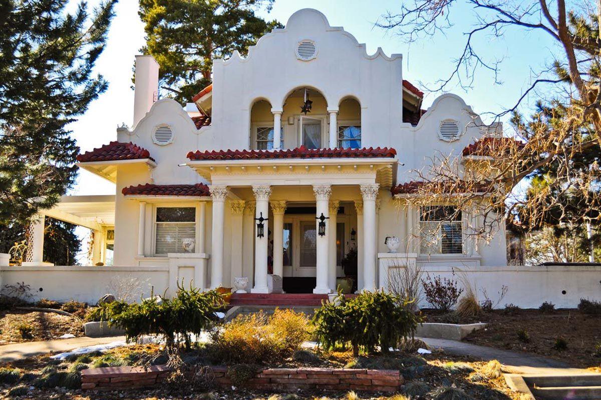 1900s Mission Revival Home In Denver Co Denver