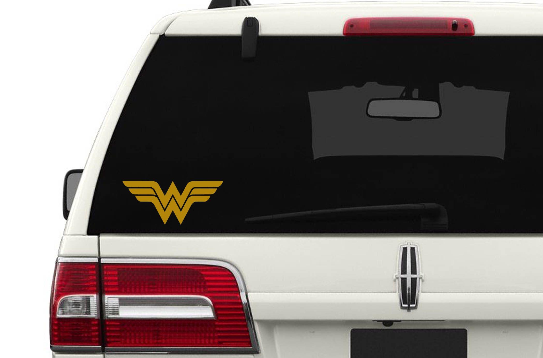 Wonder Woman Stars Emblem Dc Comics Inspired Justice League Fan Art Vinyl Car Laptop Decal Vinyl Cricut Vinyl Vinyl Decals [ 1501 x 1501 Pixel ]