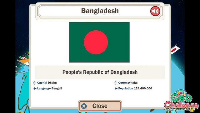 Geo Challenge - Bangladesh Country maps and National flag - new apple app world map