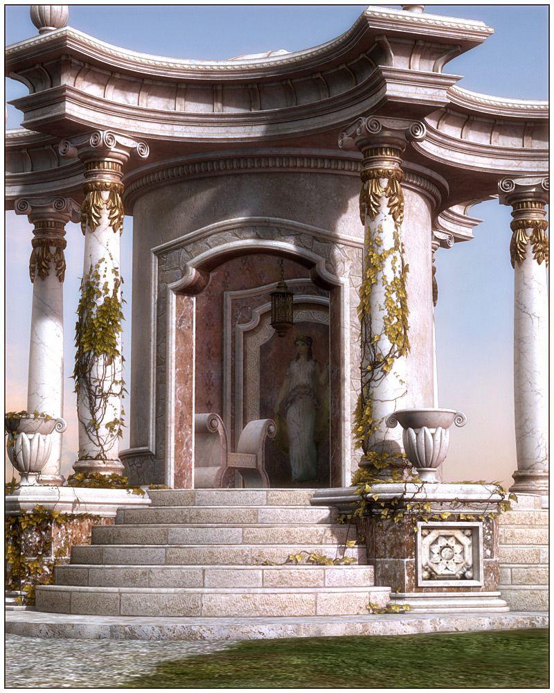 Palladio Roman Props & Scene Ancient architecture