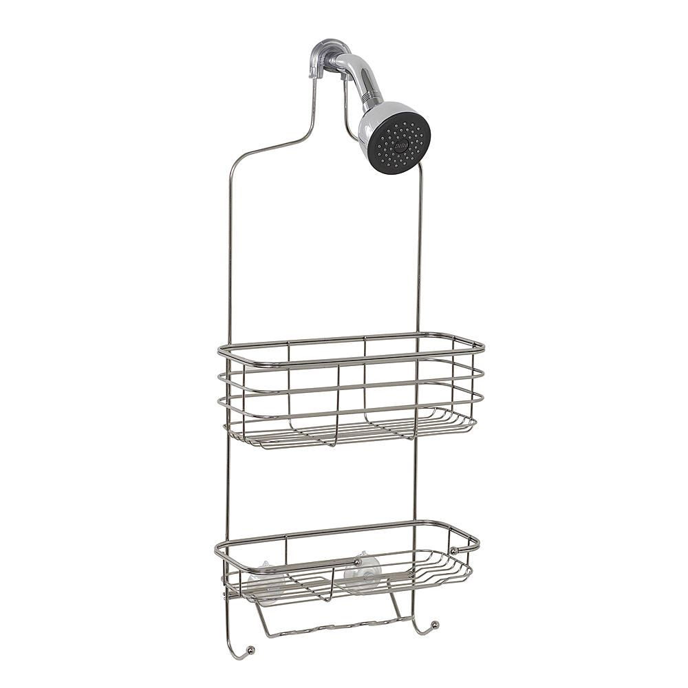Zenith Products Premium Shower Caddy, Stainless Steel - Bed \u0026 Bath ...