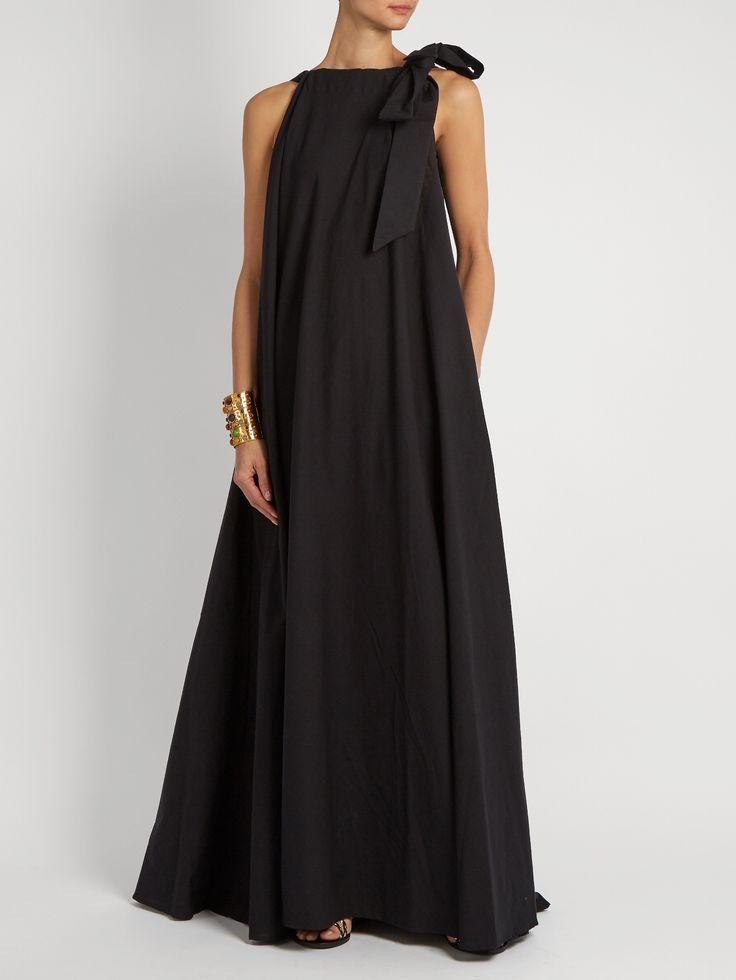 Camille Reversible Cotton Maxi Dress Kalita Matchesfashion Com