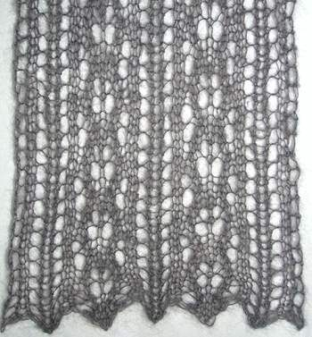 Free Knitted Lace Scarf Patterns Knitting Embroidery Pinterest