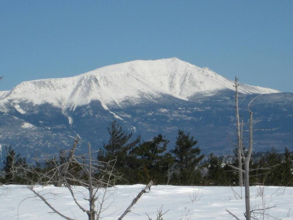 Majestic Katahdin, not sure but this may have been shot from just south of Patten