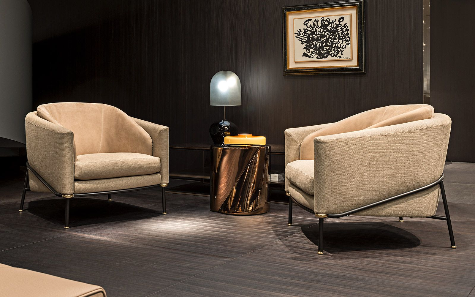 Minotti Mobili ~ The launch of the 2017 collection coordinated as were the