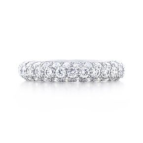 Etoile Three Row Band Ring If I Got Married Again Aka