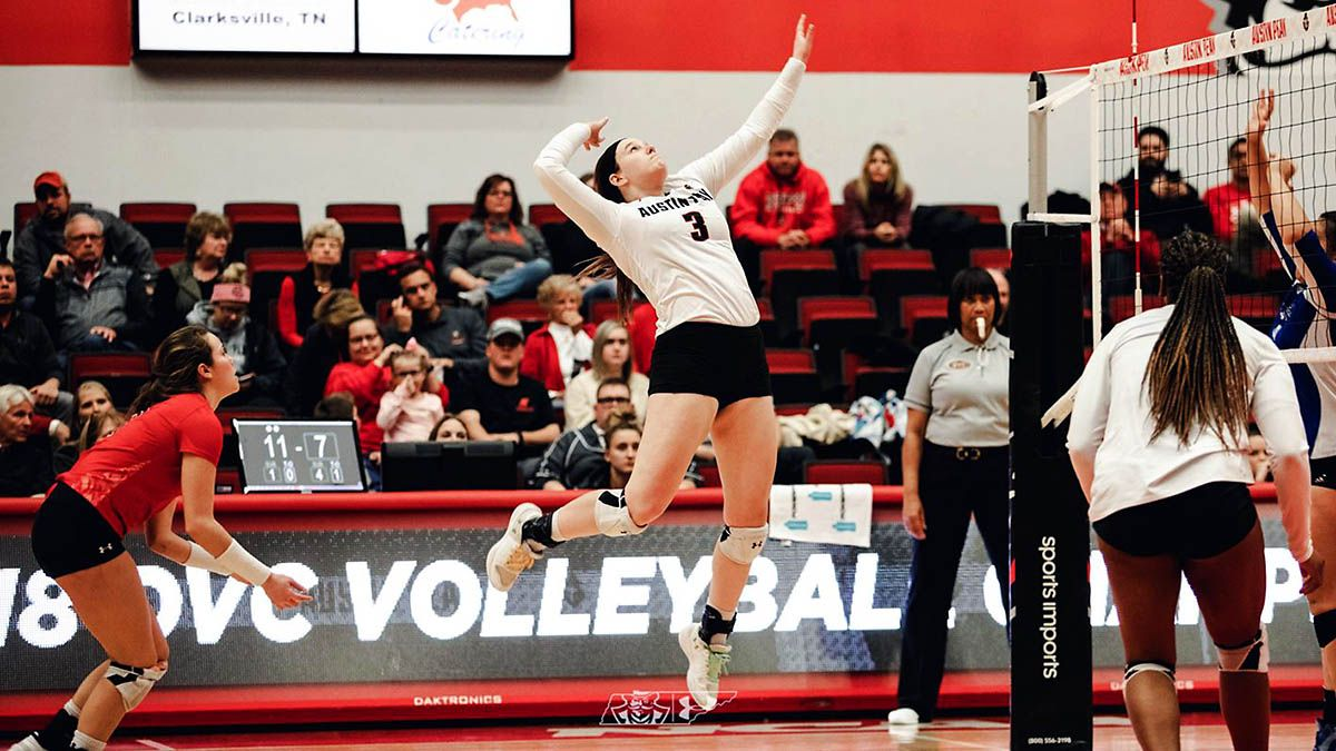 Apsu Volleyball Hits The Road For Mizzou Invitational Austin Peay State University Volleyball Louisiana Tech