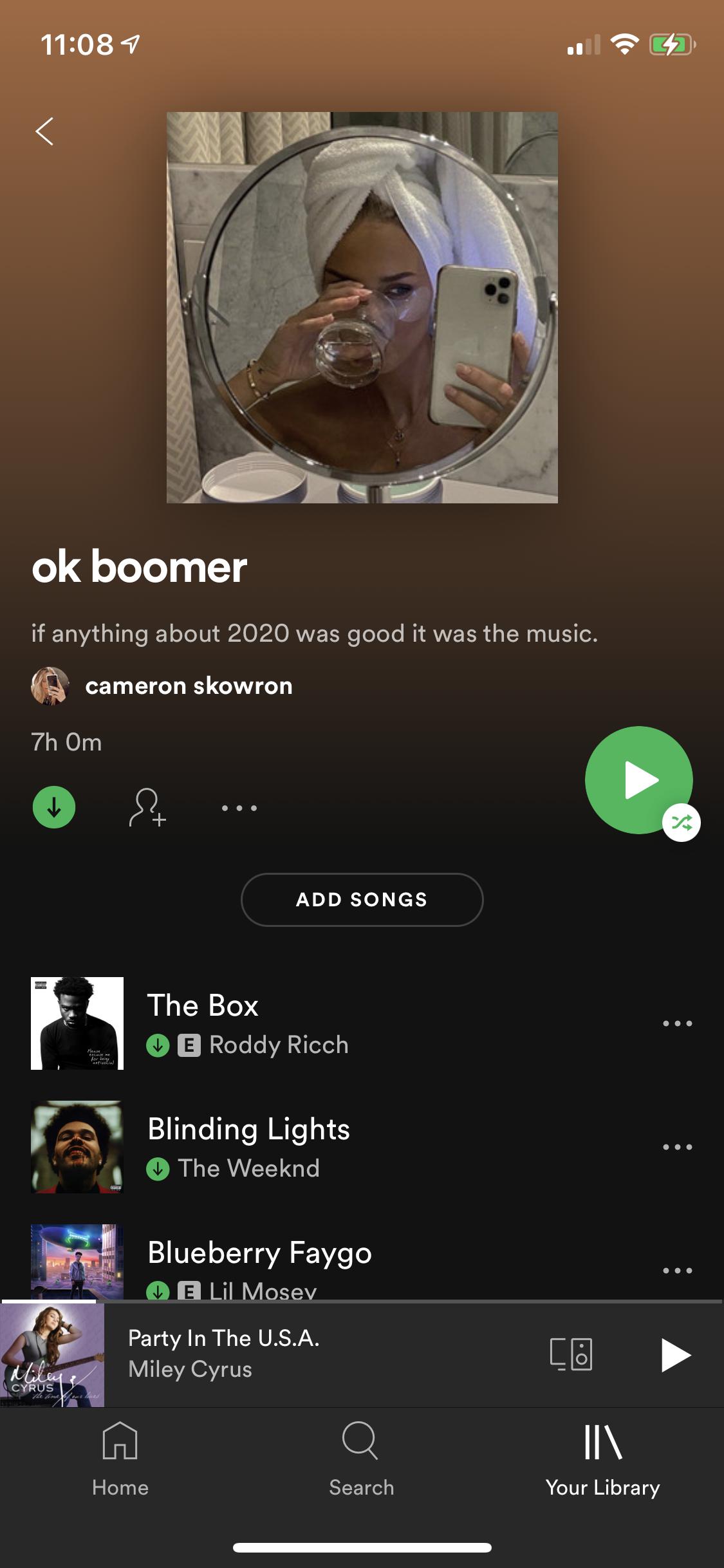 Ok Boomer Playlist On Spotify In 2021 Spotify Music Playlist Name Music Mood