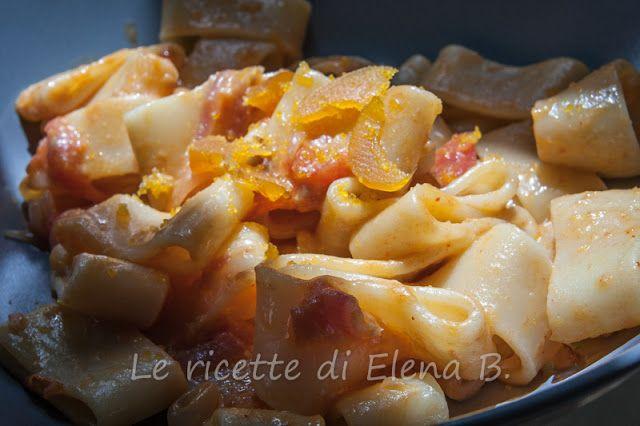 Le ricette di Elena B.: Calamarata alla bottarga di muggine