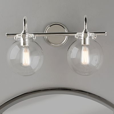Affordable Farmhouse Bathroom Vanity Lighting Vintage Bathroom