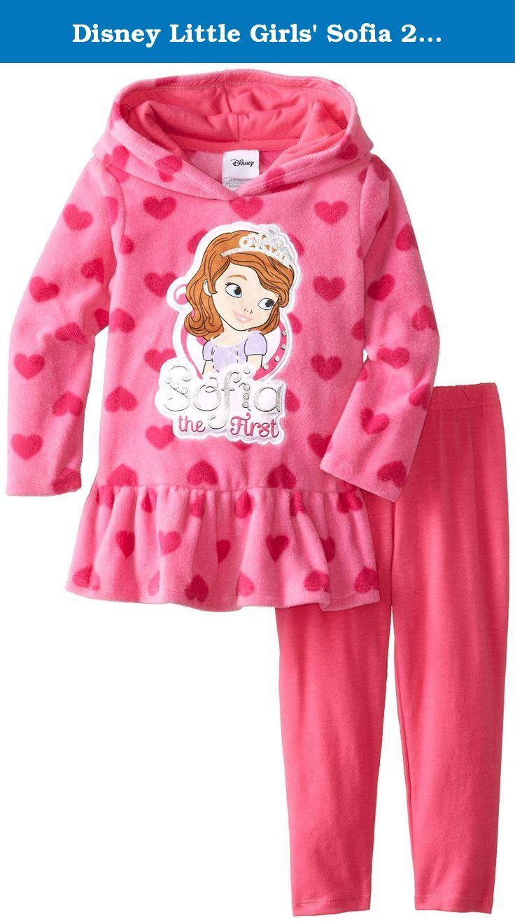 Disney Little Girls  Sofia 2 Piece Heart Fleece Set eb2405672