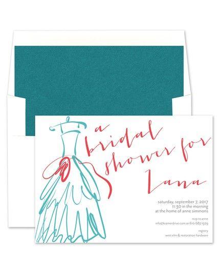 Wedding Dress Invitations - Kramer Drive (