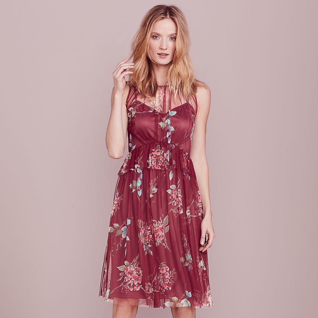 LC Lauren Conrad Dress Up Shop Collection Tulle A-Line Dress - Women's