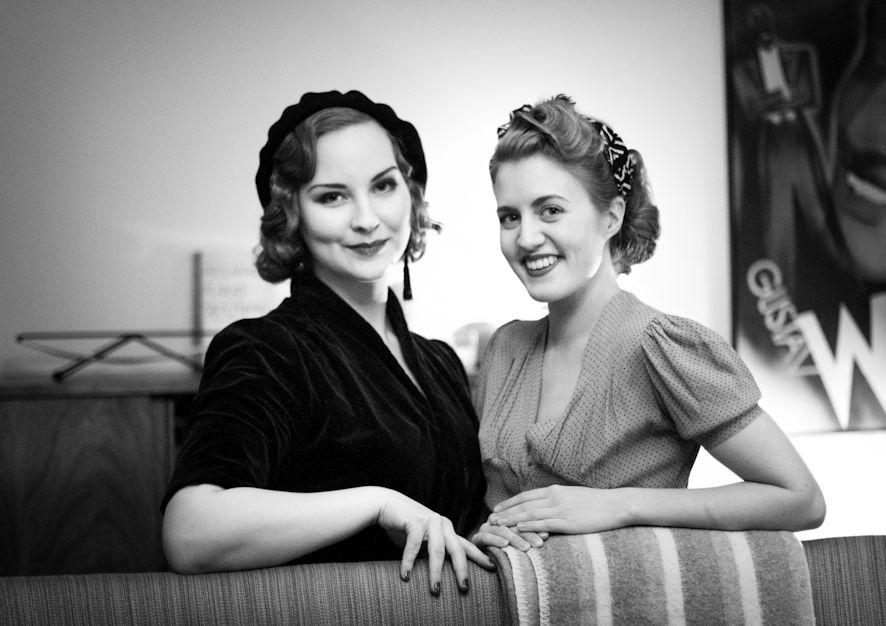 Miriam Parkman and Jirina Alanko, picture from miriamskafferep.com.