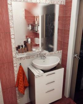 18 desain kamar mandi kecil sederhana minimalis (dengan