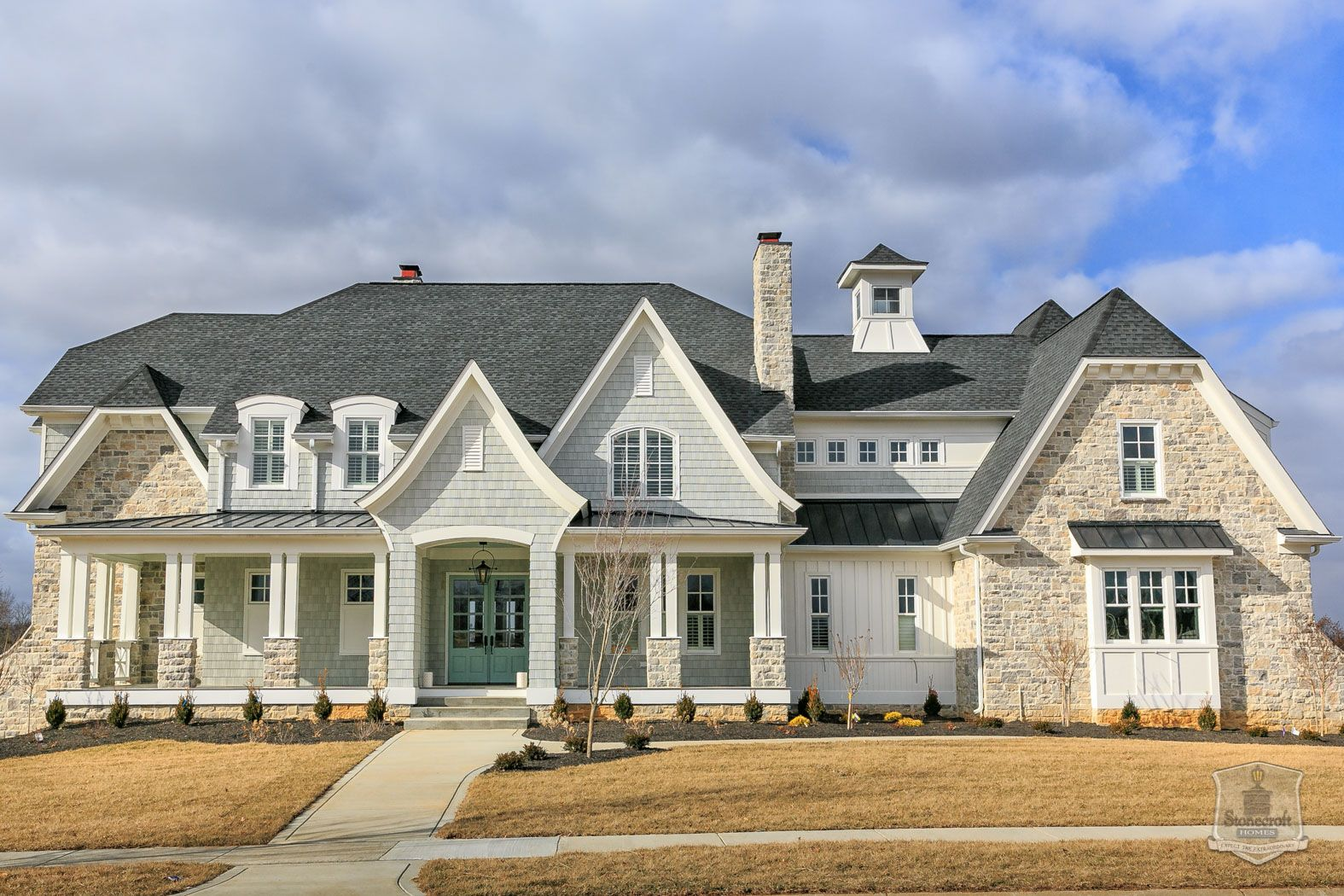 Exterior: Love The Colors And Textures Of Exterior/Stonecroft Homes