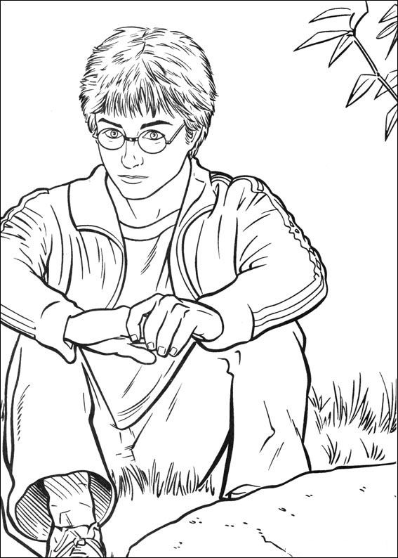 Awesome Potter Printable Pages For Kids To Color Coloring Page High Quality