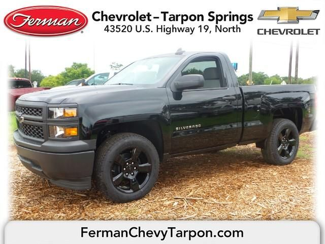 2015 Chevrolet Silverado 1500 Regular Cab Standard Box 2 Wheel Drive Work Truck Black 2015 Chevrolet Silverado 1500 Chevrolet Work Truck