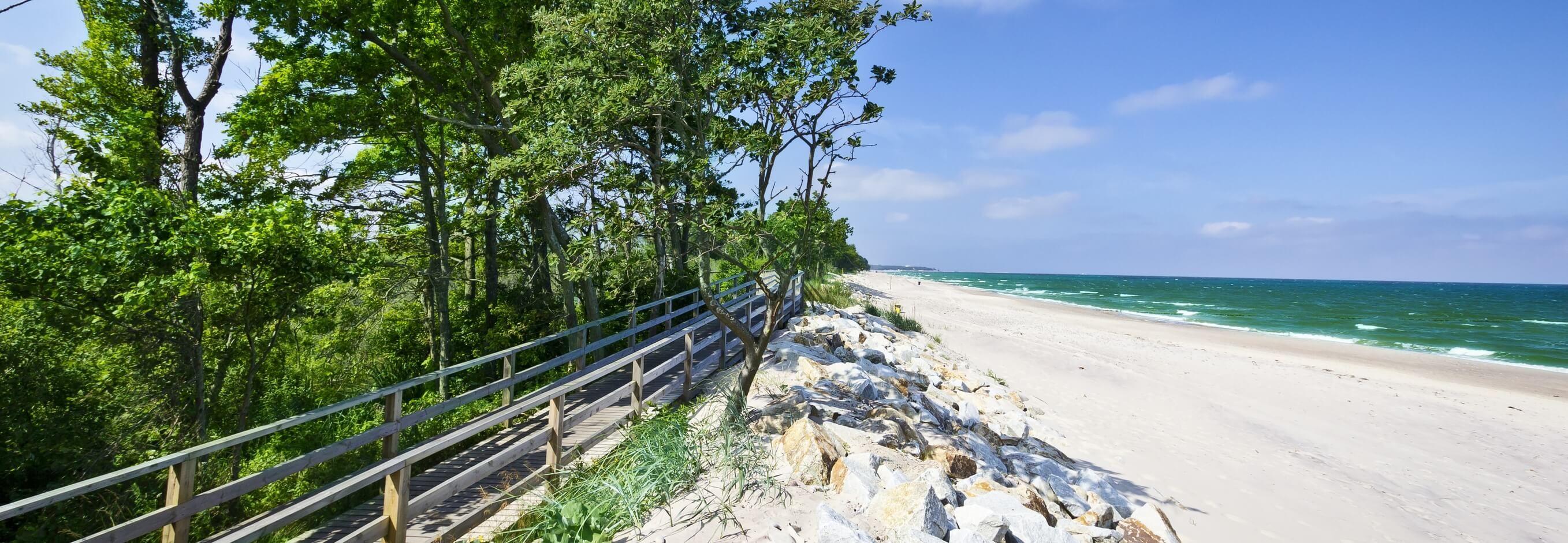 Erholsame Strandtage an der polnischen Ostsee 2, 3, 4