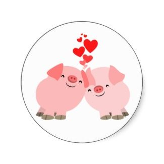 Cute Cartoon Pigs In Love Merchandise Cheerful Madness Online Shop Pig Cartoon Pig Pictures Pig Illustration
