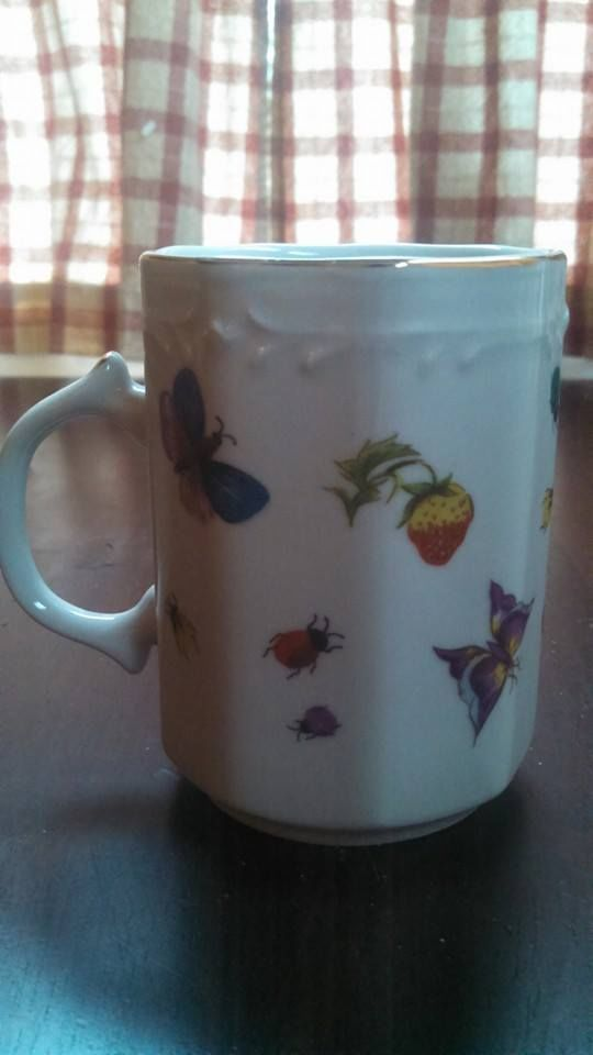 Ardalt Porcellean Coffee Cup - Fine China of Japan