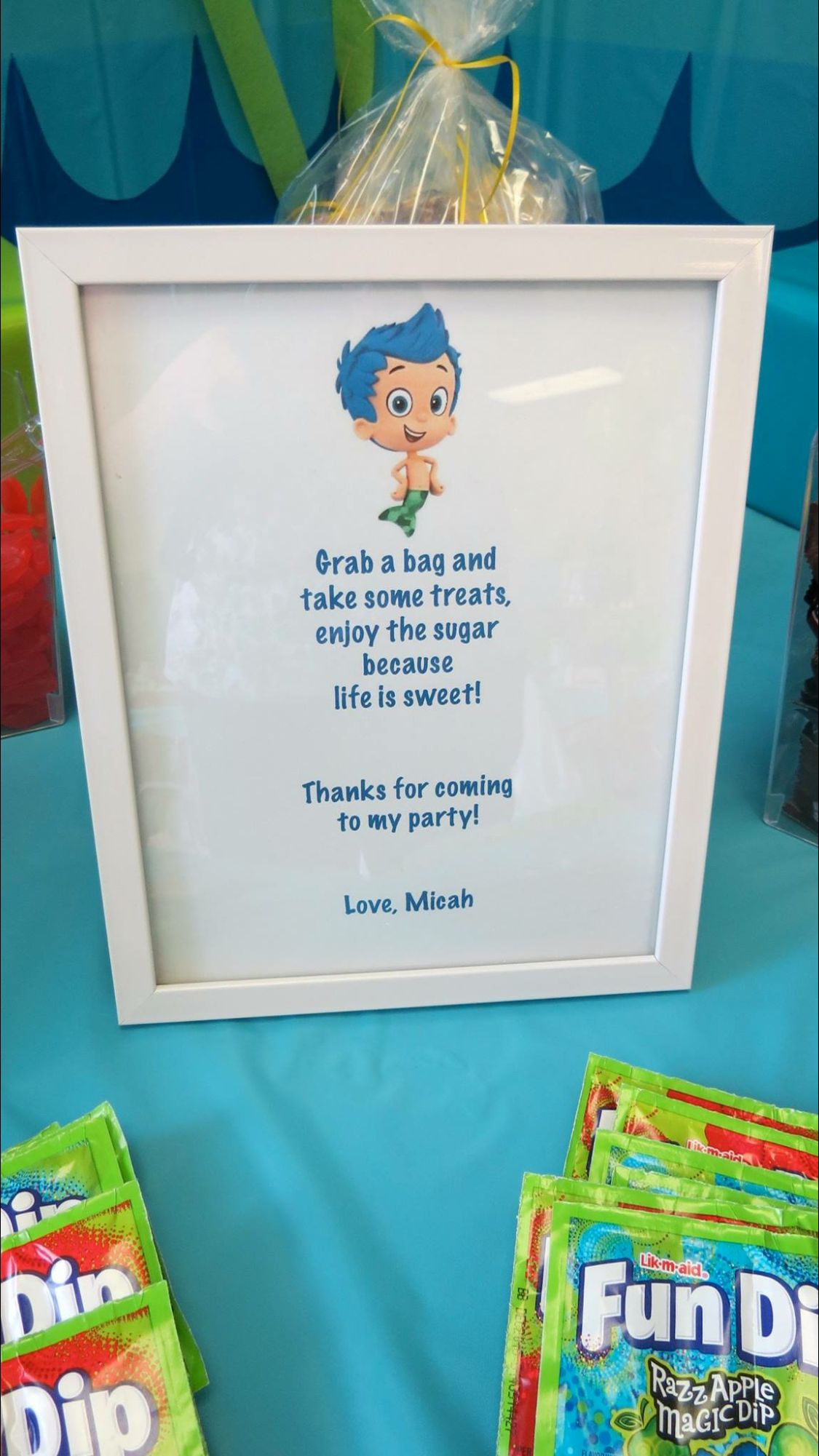 Thanks for coming | Aimee 3 | Pinterest | Bubble guppies, Guppy and ...