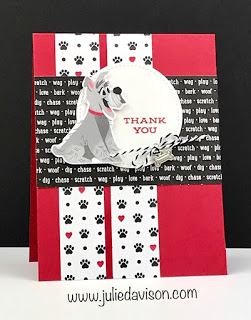 Stampin Up Playful Pets Dog Card 2020 2021 Annual Catalog