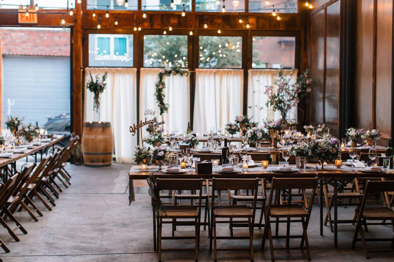Stylish Brooklyn Winery Wedding Katy Lee