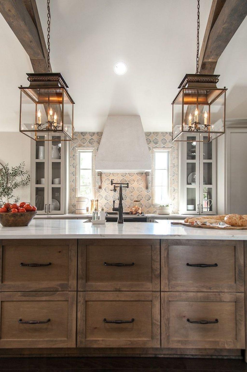46 the best modern farmhouse kitchen design ideas to blend modern rh pinterest com
