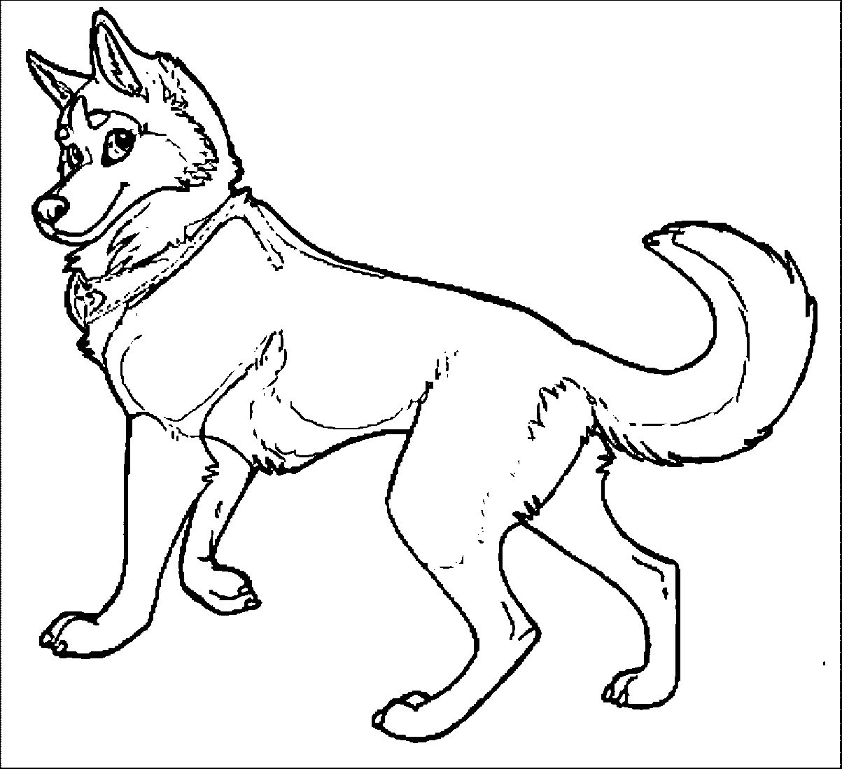 Brilliance Husky Coloring Page Wecoloringpage 17 Wecoloringpage ...