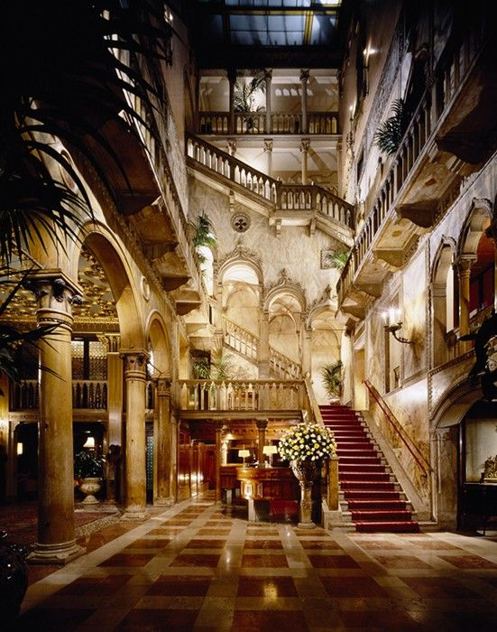 the lobby of the incomparable hotel danieli in venice spectacular lobby pinterest. Black Bedroom Furniture Sets. Home Design Ideas