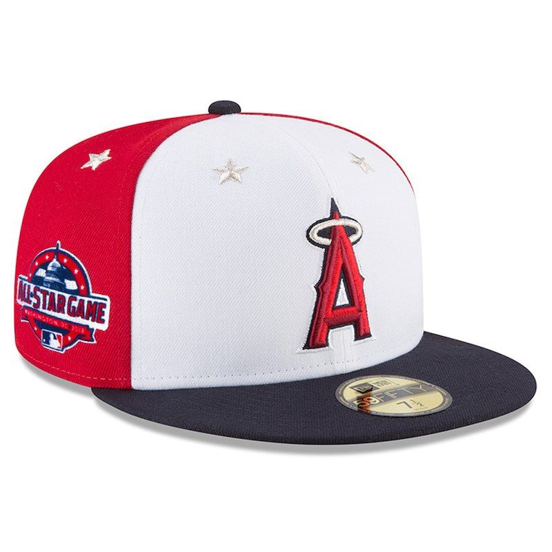 free shipping wholesale outlet great fit Los Angeles Angels New Era 2018 MLB All-Star Game On-Field 59FIFTY ...
