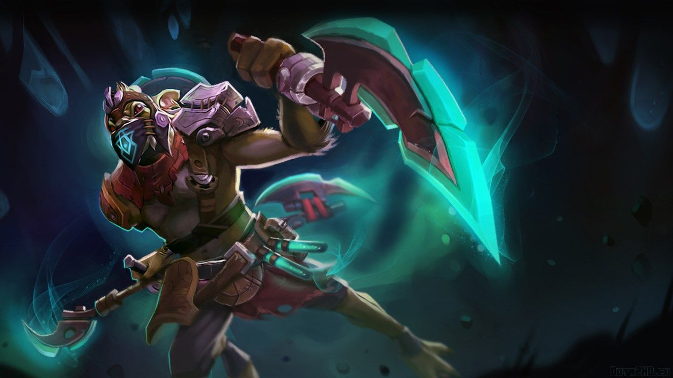 1366x768 Bounty Hunter Dota 2 Wallpaper Hd Dota Ii Pinterest