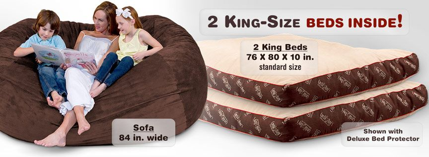 King Size Beanbag Sofa Beds Cordaroy S For Zander And