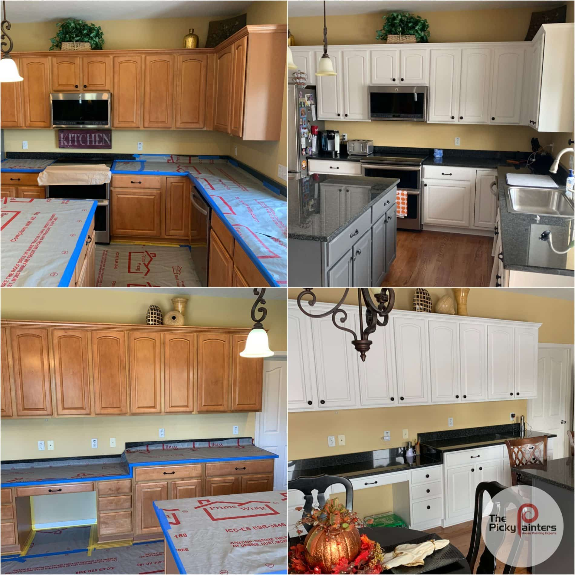 Here Is Another Kitchen Cabinet Refinishing Project In Avon Ohio The Main Cabinets We Refinished To Sherwinwil In 2020 Refinishing Cabinets Kitchen Cabinets Cabinet