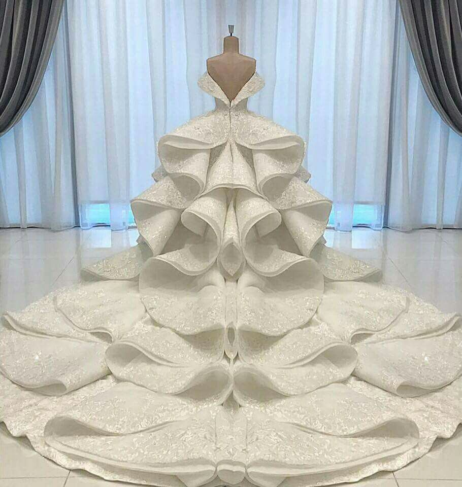 a of an exquisite bridal couture gown by michael cinco for a