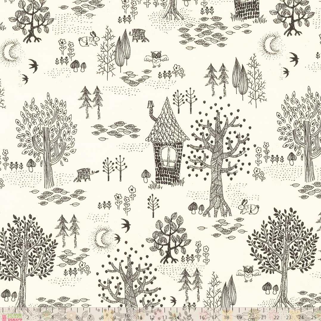 woodland fabric from http://www.plushaddict.co.uk/japanese-import-wildwood.html