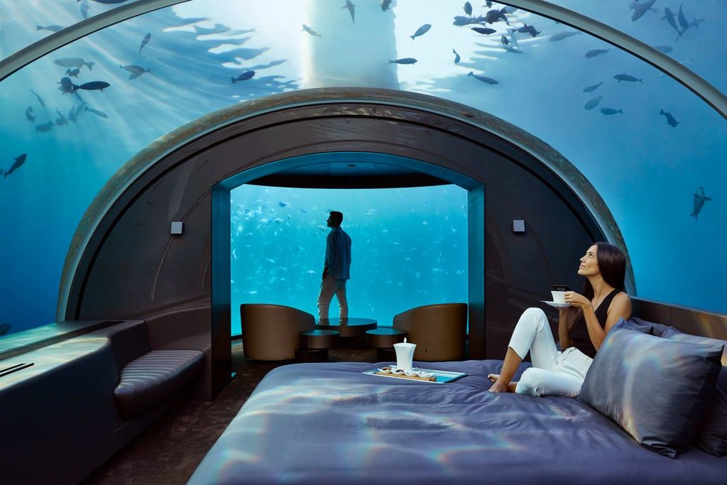 If This Underwater Villa In The Maldives Isn T On Your