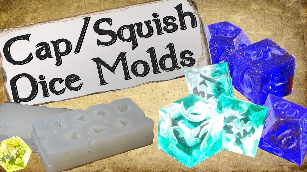 How to make cap squish dice molds in 2020 diy dice