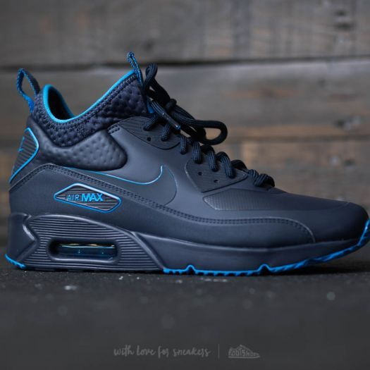 reputable site f8213 4c530 Nike Air Max 90 Ultra Mid Winter SE Obsidian Obsidian Thunder Blue