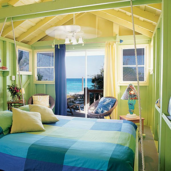 Best Tropical Bedroom Design Green And Yellow Tropical Bedrooms 400 x 300