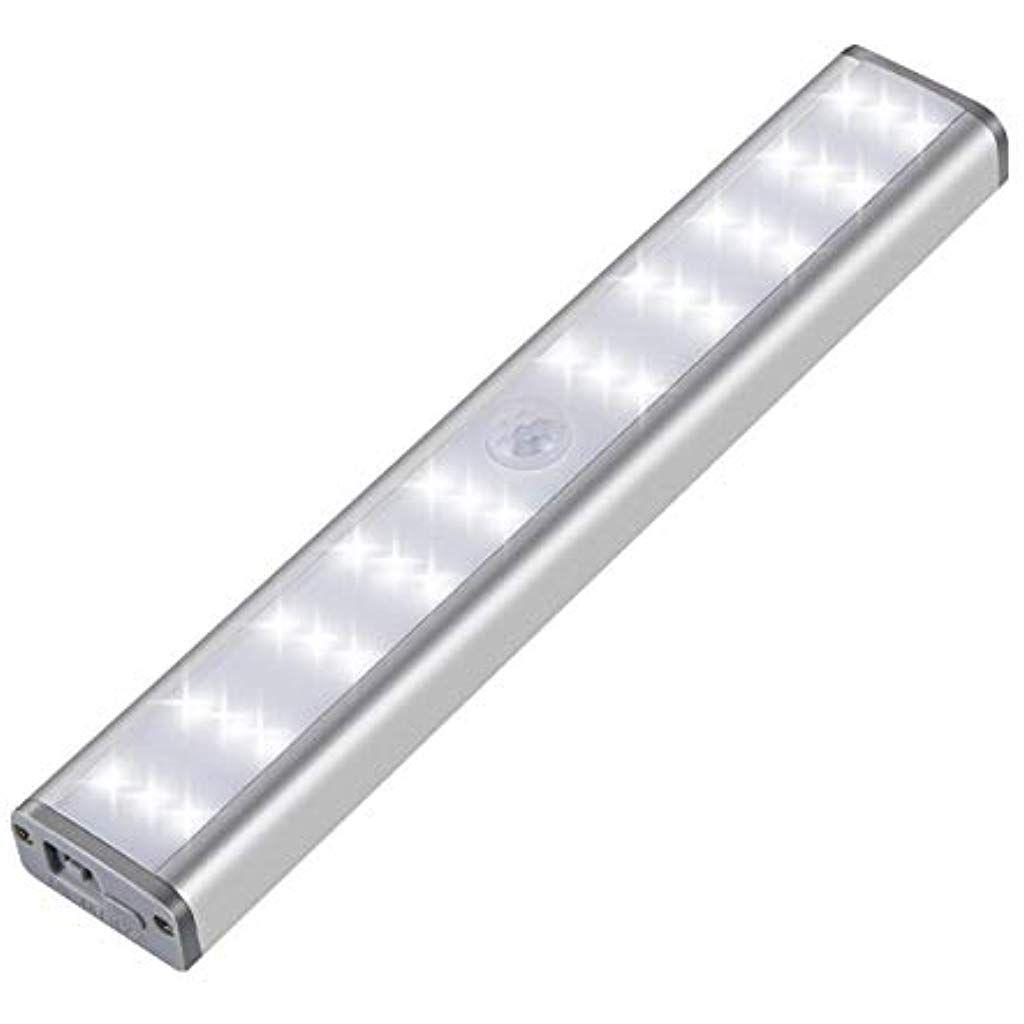 Daifa Bewegungssensor Schrank Lichter 30 Leds Usb Wiederaufladbare Magnetische Wandleuchte Kabinett Licht Mit 3 Modi Fur Tr In 2020 Wandleuchte Lichter Bewegungssensor