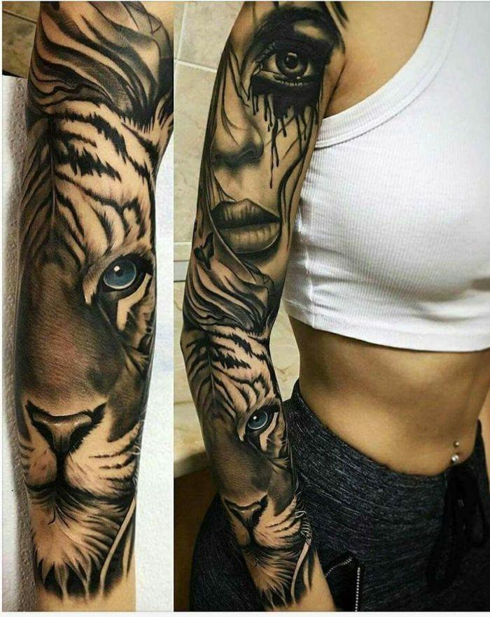 1001 id es de designs uniques de tatouage manchette manchettes tatouages et animal - Manchette tatouage femme ...