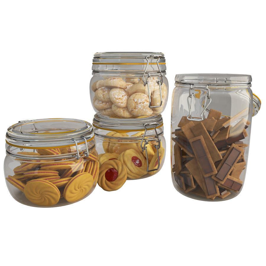 Cookies Jar 3d Model Jar Cookie Jars 3d Cookie