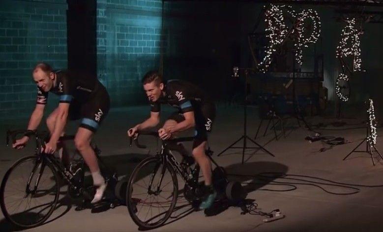 Tour-de-France-winning Team Sky deliver Christmas message