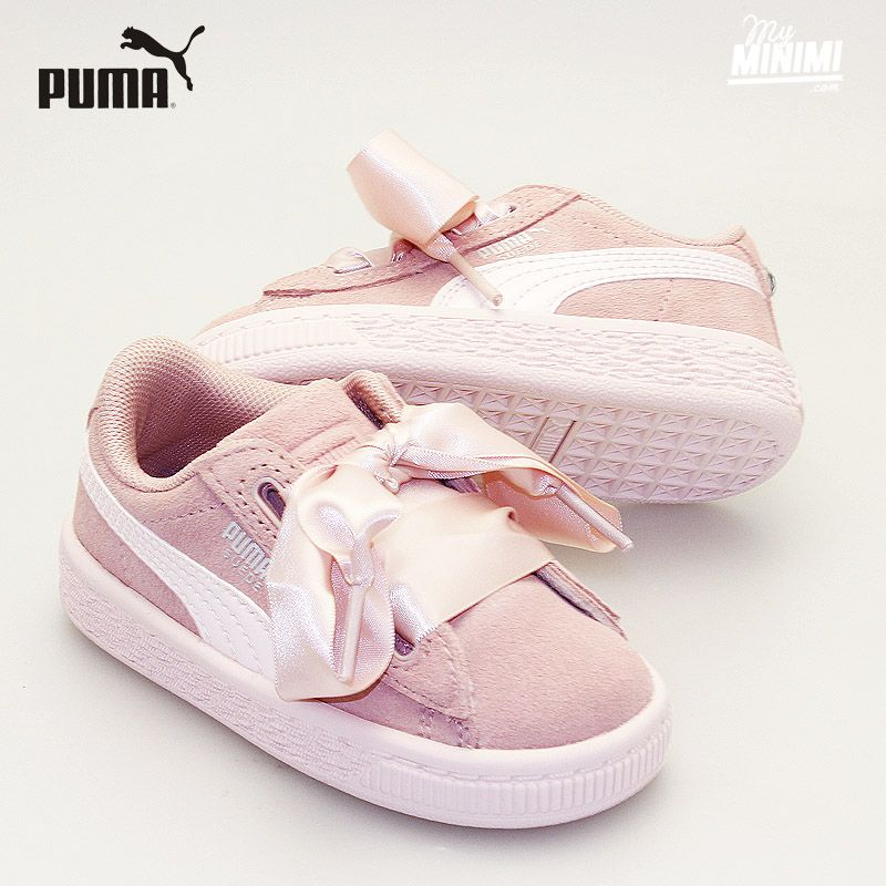 Photo Puma Heart Jewel - Sneakers from 19 to 27 - Pink   Chaussure ...