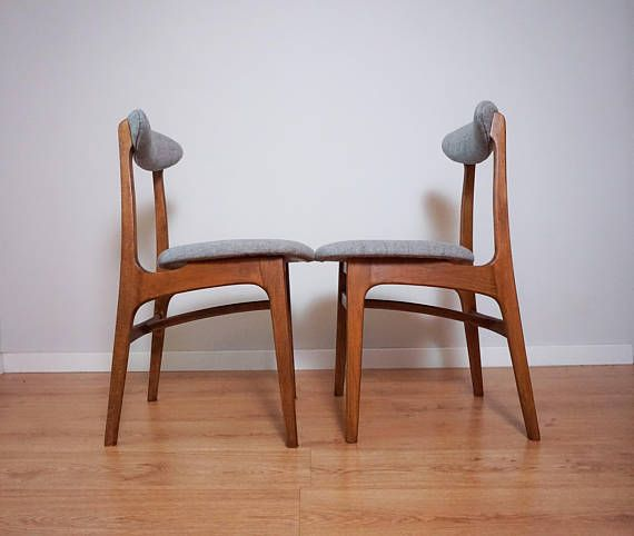 Pair Of Rare Vintage Mid Century Danish Modern 60s Chairs : vintage 60s chairs - Cheerinfomania.Com