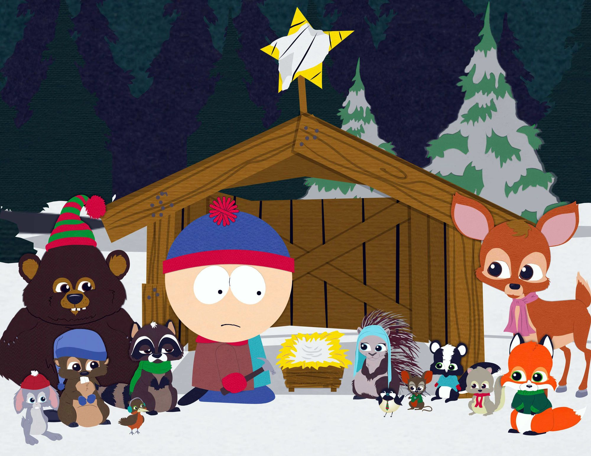 South Park Christmas 2020 Woodland Critters in 2020 | South park, Friends christmas episode