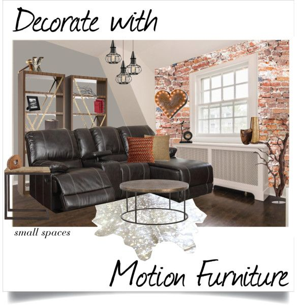 Decorate with Motion Furniture - Small Spaces by acpacific on ...